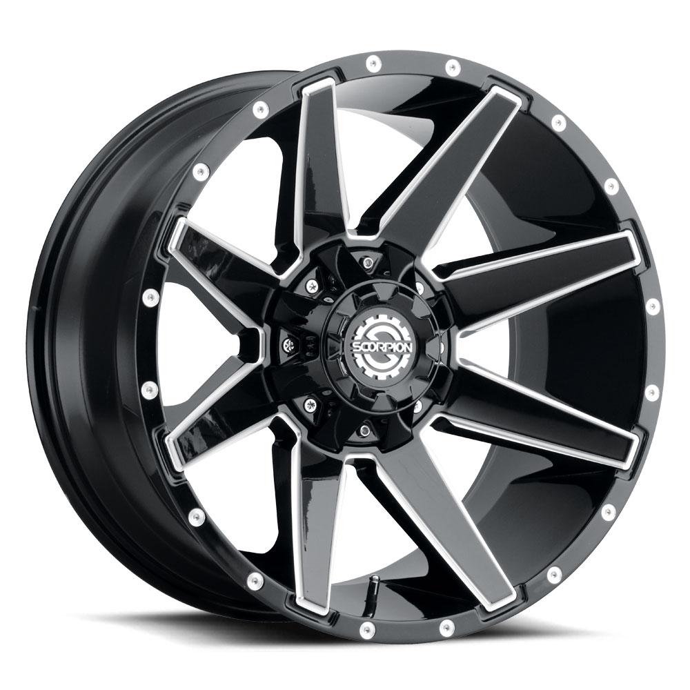 SC 31 Black milled 20x10 6h