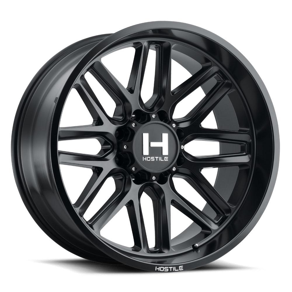 H120 Vulcan Satin black 8h